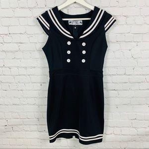 Hell Bunny Vixen sailor body on dress